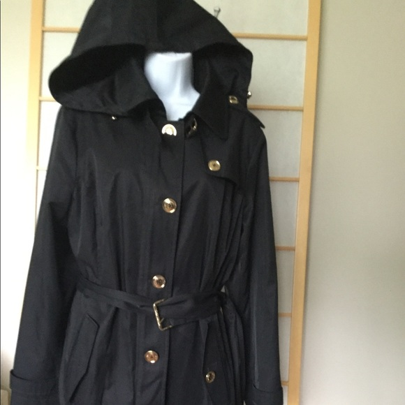 MICHAEL Michael Kors Rain wind coat with hood